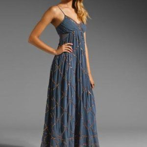 Free People Embellished Maxi Dress